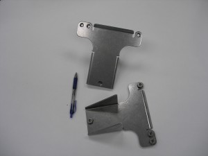 smooth stamped metal bracket