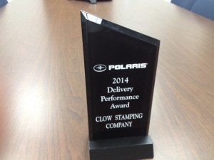 Polaris Delivery Performance Award