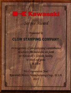 Kawasaki Service Award